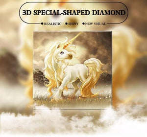 The Little Unicorn - Special Shaped 5D Diamond Painting Kit