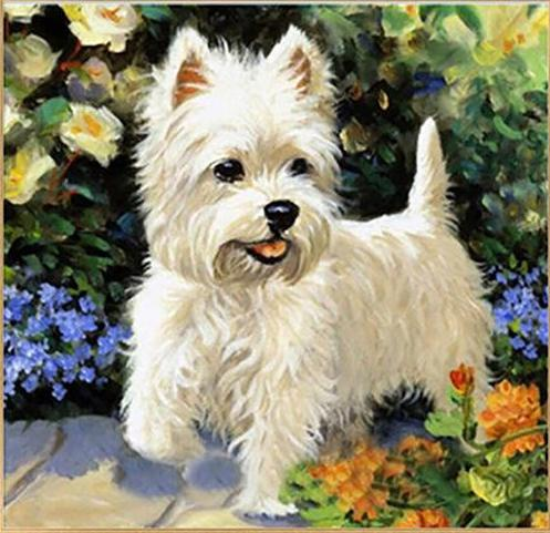 Cute Dog 5D Diamond Painting