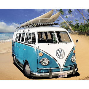 Beach Boy VW 5D Diamond Painting