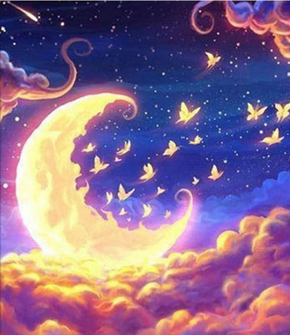 Dream Moon - 5D Diamond Painting Kit