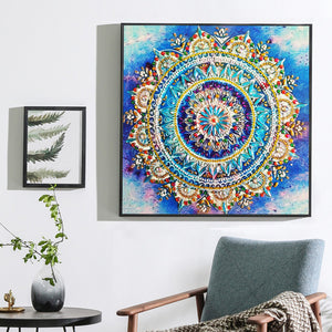 Mandala - Special Shaped 5D Diamond Painting Kit