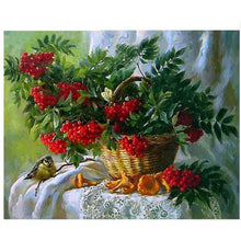 Floral Basket - 5D Diamond Painting Kit