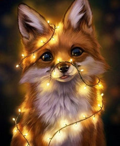 Light Fox - 5D Diamond Painting Kit