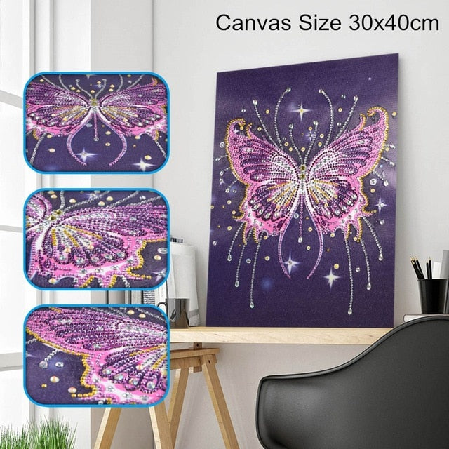 Butterfly - Special Shaped 5D Diamond Painting Kit