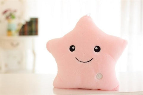 Glowing Toy Stars Pillow
