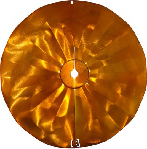 Copper Tint Pole Mount Disk Squirrel Baffle