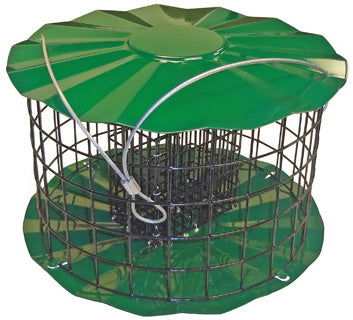 Metal Double Suet Cake Bird Feeder