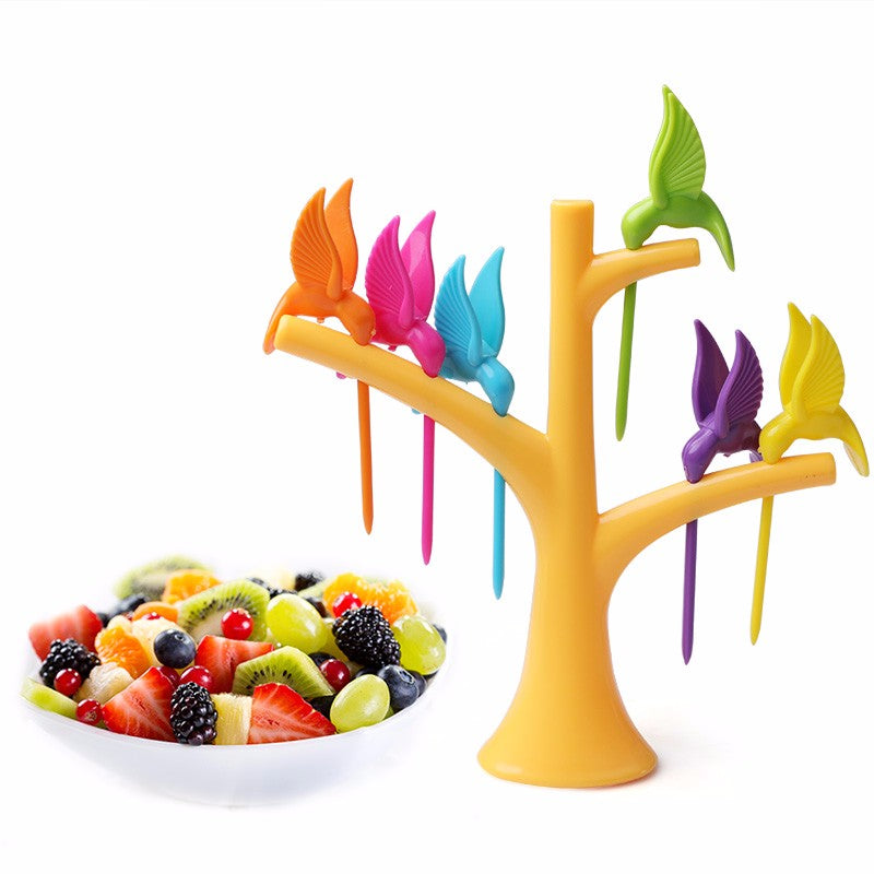 Birds & Tree - Forks Holder