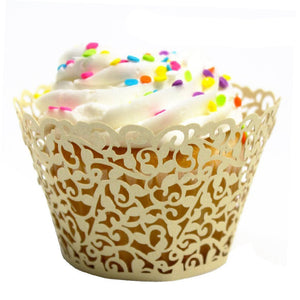 Paper Lace Cupcake Wrapper