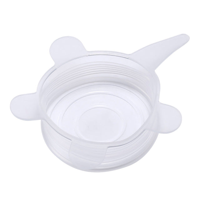 Universal Silicone Stretch Lids (6 pcs)