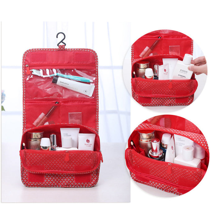 Cosmetics & Makeup Travel Case / Hanging Toiletry Bag