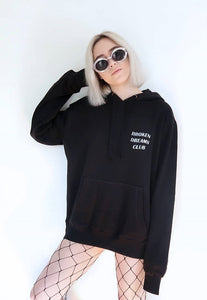 """Broken Dreams Club"" Reflective Hoodie"