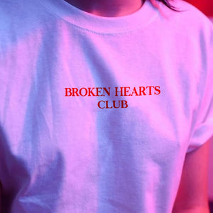 """Broken Hearts Club"" T-Shirt"