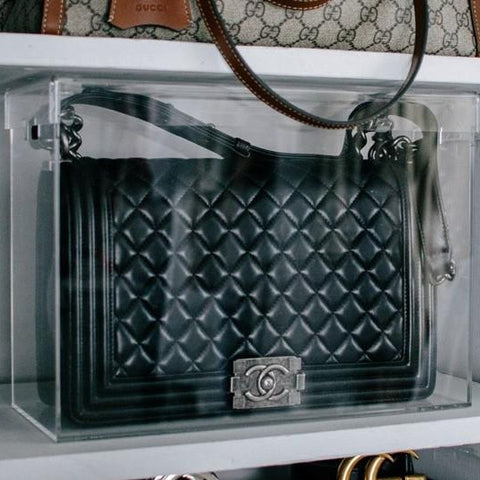 Display Case Model C Large designed for Chanel Classic Flap