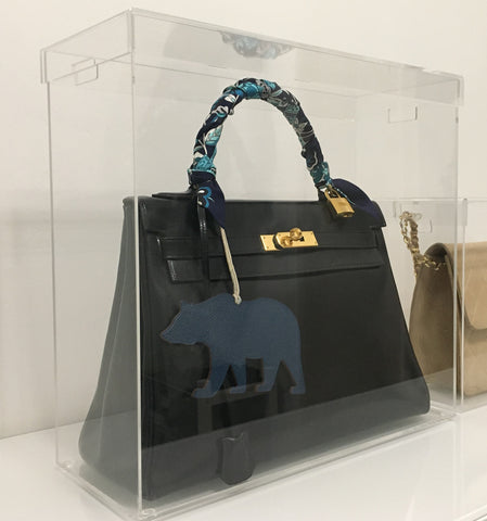 Display Case Model K Medium designed for Hermes Kelly 28