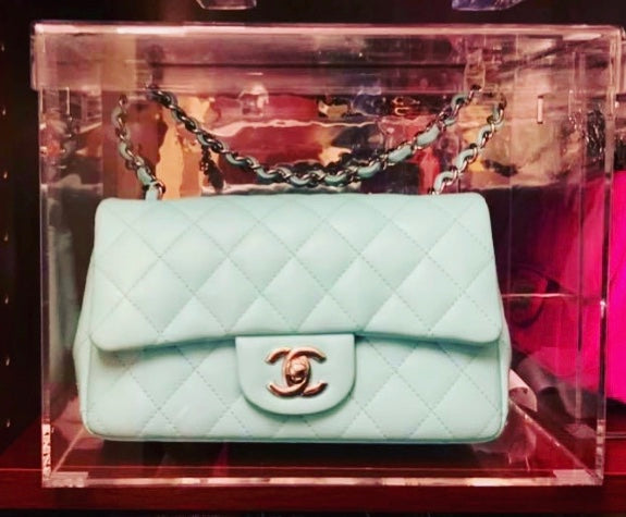 Display Case Model C Mini designed for Chanel Mini or Small Flap Bag
