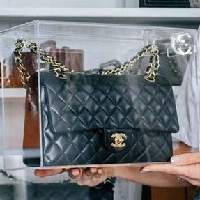 Display Case Model C Medium designed for Chanel Classic Flap