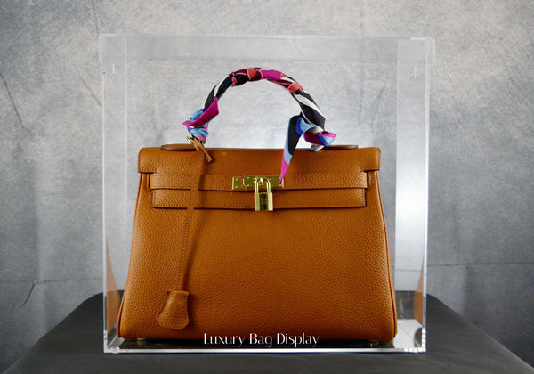 Display Case Model K Large designed for Hermes Kelly 32