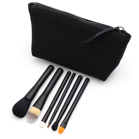 Makeup Brushes - 6 Pcs Basic/Advanced Makeup Brush Set