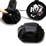 VELY VELY ™  Travel Makeup Bag – Lay-n-Go Magic Travel Pouch