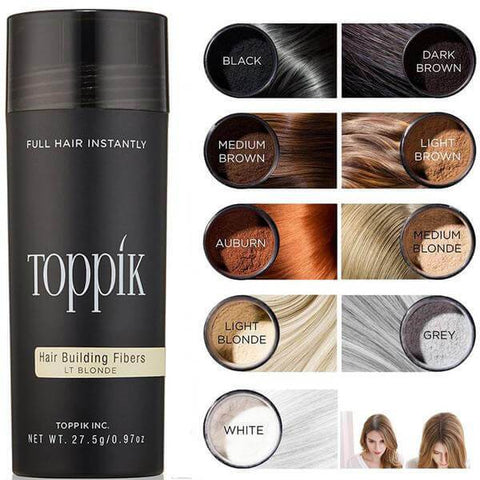 TOPPIK Hair Fibers - 27.5g Hair Building Fibers