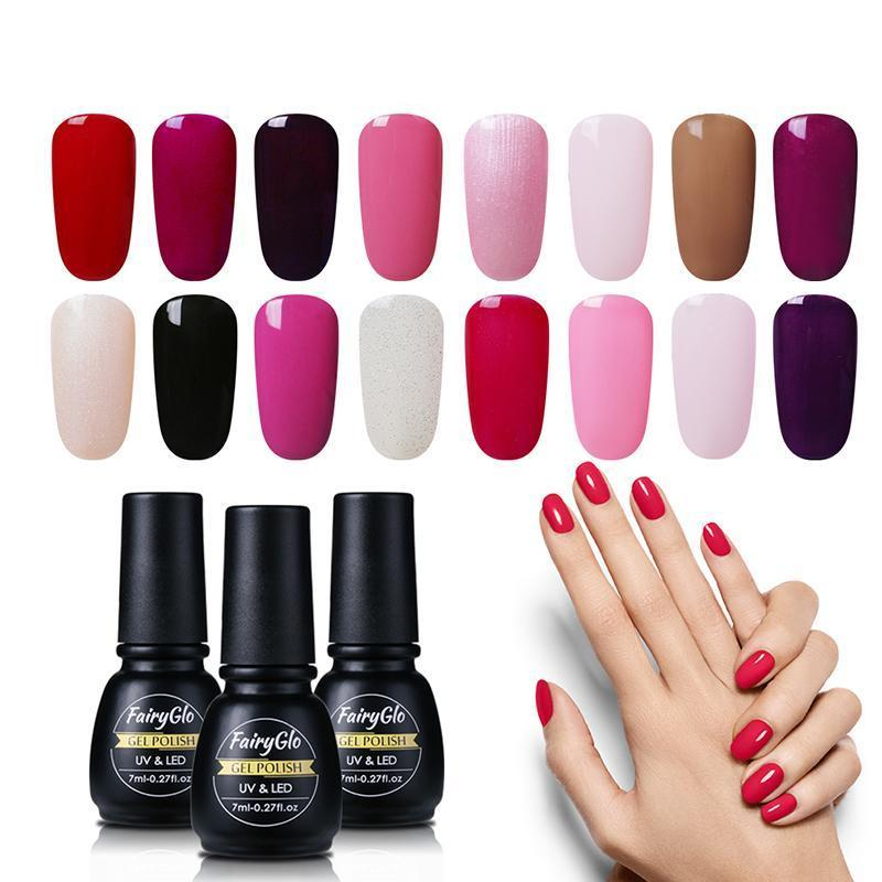 Nails Uv Gel Nail Polish Fairyglo Semi Permanent Led Nail Polish