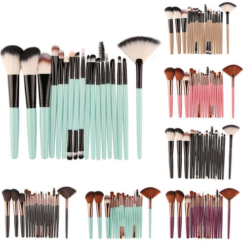 Makeup Brushes - 18 Pcs Professional Multi Makeup Brush Set