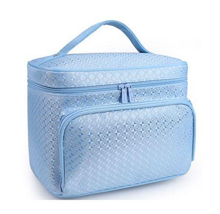 Travel Makeup Bag - Large Capacity Cosmetic Case