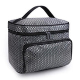 Travel Makeup Bag - Square Large Cosmetic Case
