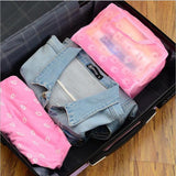 Travel Makeup Bag - Transparent Cosmetic Case