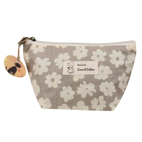 Makeup Bag - Cherry Blossoms Cosmetic Case