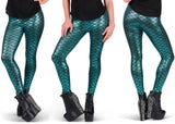 Majestic Little Mermaid Leggings