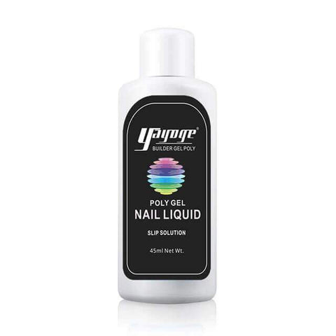 Poly Gel Nails - Nail Enhancement Kit - Liquid Slip Solution