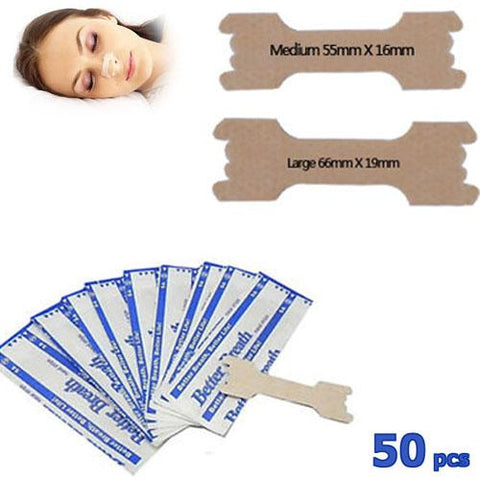 Better Breathe Nasal Strips (50pcs)