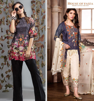 House Of Faiza | A trusted name for Pakistani Designer Suits