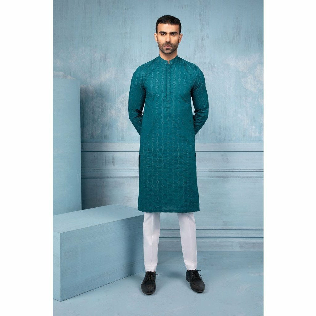 SAPPHIRE | MENS EID COLLECTION 20 | 2 Piece | Titanite - House of Faiza