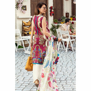 Mushq |  Lawn 20 | Marsala - House of Faiza