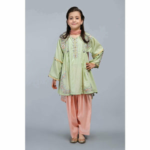 Suit Green MKD-SS20-10 - House of Faiza