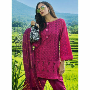 ZAINAB CHOTTANI - DILKASH 05A | Embroidered Fully Stitched Women's Suit