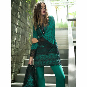 ZAINAB CHOTTANI - KERAJAN 01A | Embroidered Fully Stitched Women's Suit