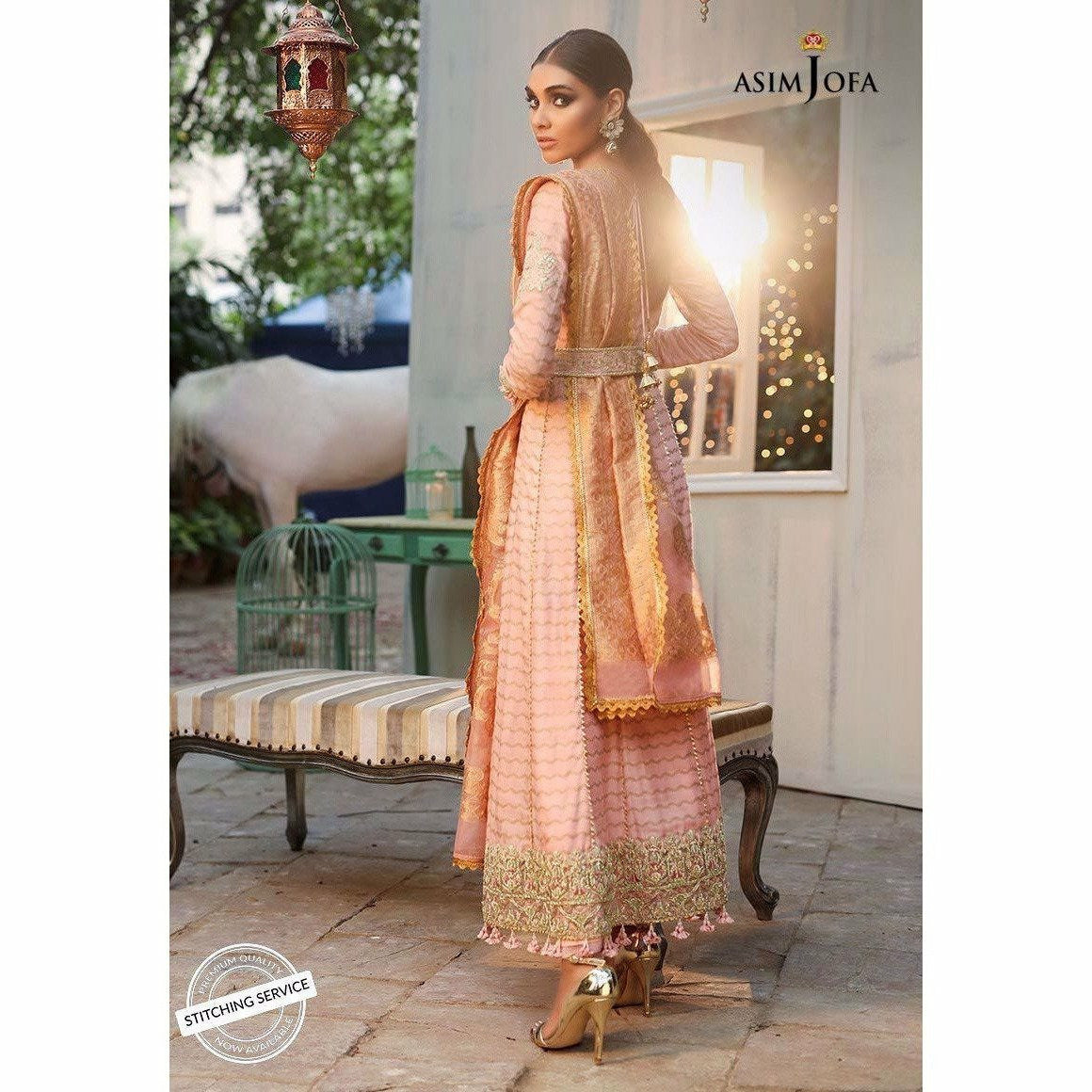 Asim Jofa Embroidered Collection 19 | AJCN-09