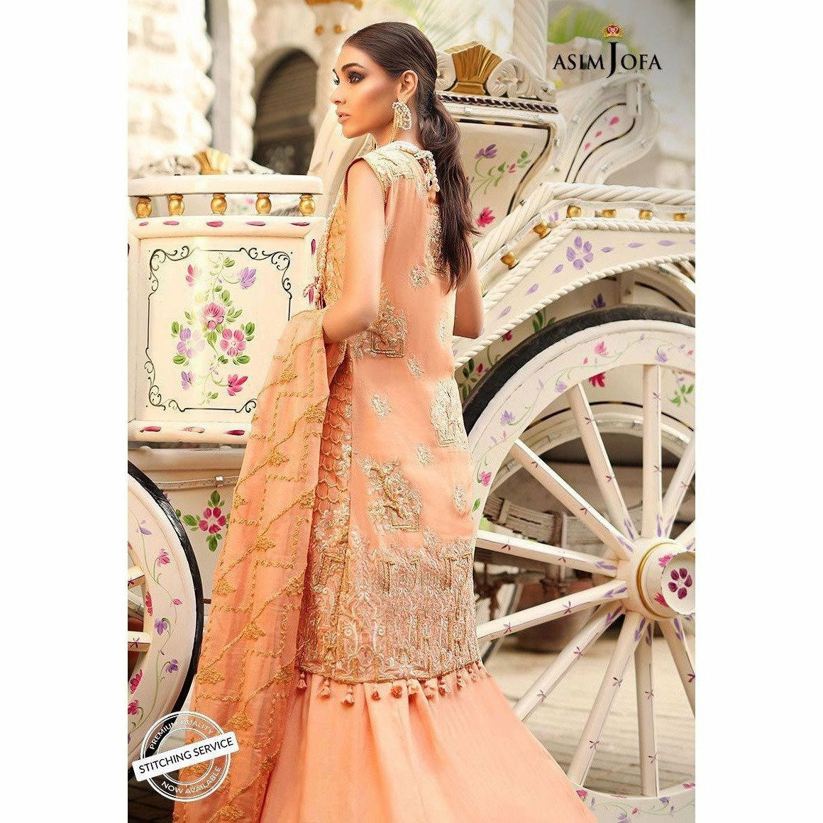 Asim Jofa Embroidered Collection 19 | AJCN-03