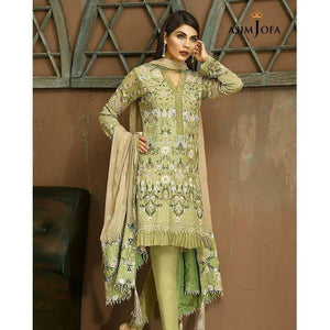 ASIM JOFA AJ-04A | EMBROIDERED WOMEN'S SUIT FULLY STITCHED COLLECTION