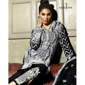 ASIM JOFA AJ-01B | EMBROIDERED WOMEN'S SUIT FULLY STITCHED COLLECTION