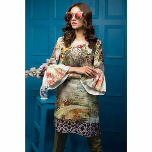 Tabassum Mughal - SECRET GARDEN | Fully Stitched Women's Shirt