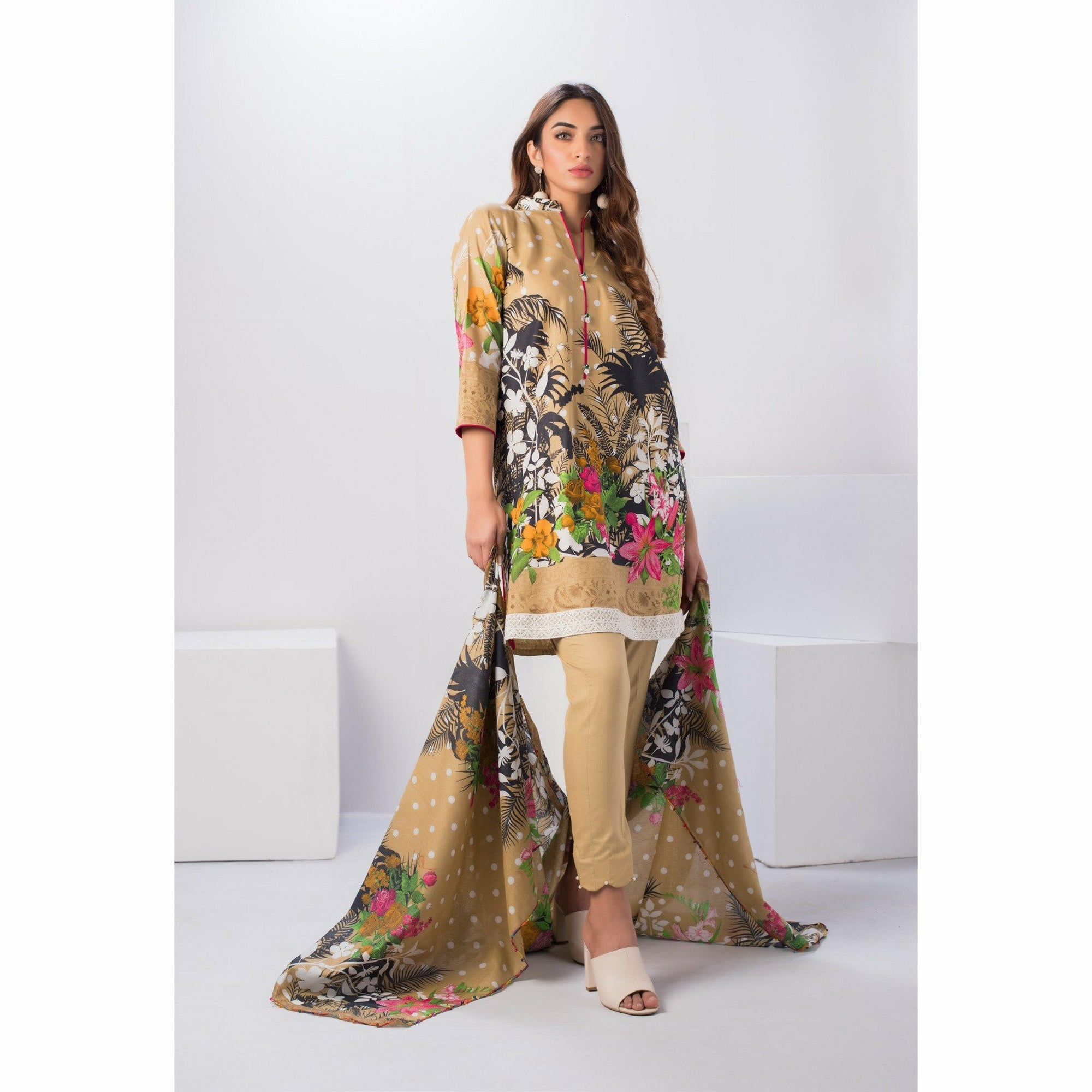Sahil | 3 Piece Printed Lawn Eid Collection | Design 01