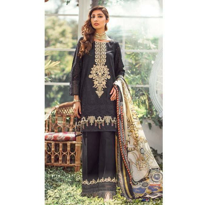 Elaf | Luxury Lawn Collection 20 | ELL-02 - House of Faiza