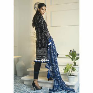 Samia | Mirroir by AB | 02 Dark Bleu - House of Faiza