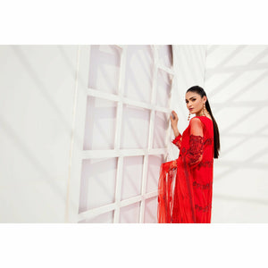 A-Meenah | Vermillion Luxe Pret Collection 21 | AVL-02 - House of Faiza