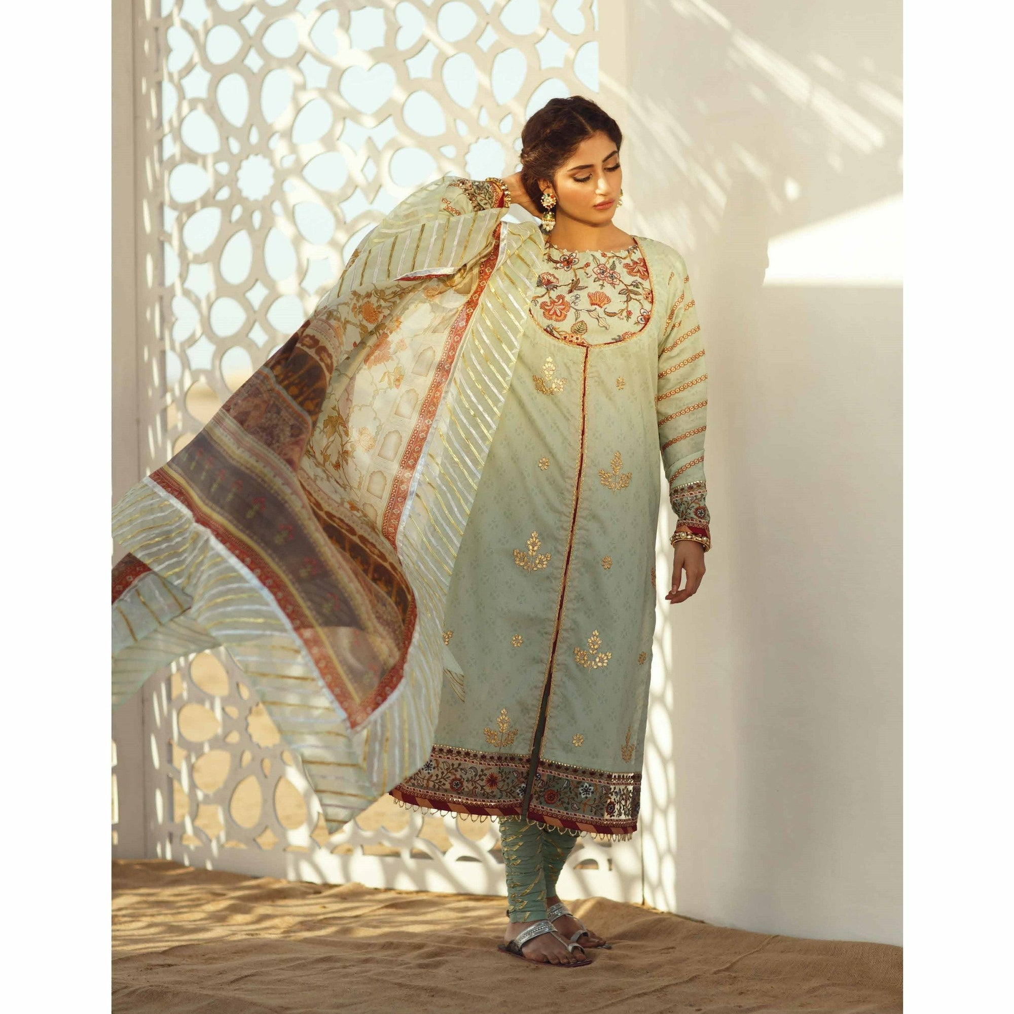 Qalamkar | Luxury Festive 20 | EC-03 - House of Faiza